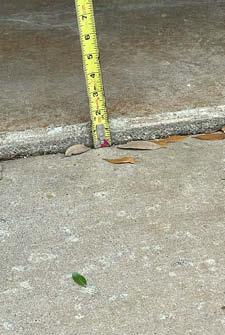 tripping hazard picture