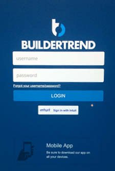builder trend login