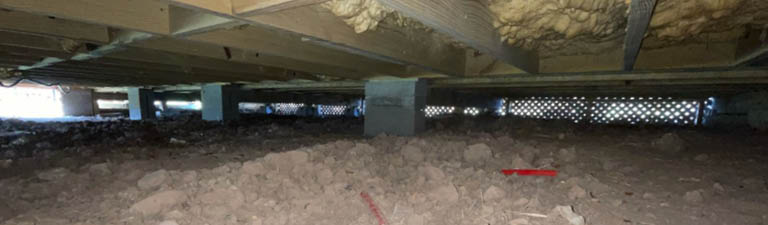 crawlspace foundations need good drainage