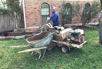 Mud-pumping for foundation repair