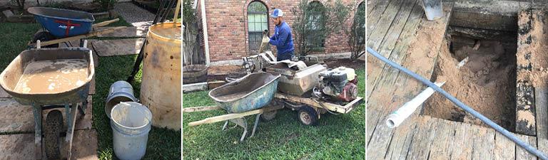 mud-pumping in foundation repair
