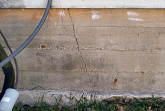 diagonal cracks in your foundation