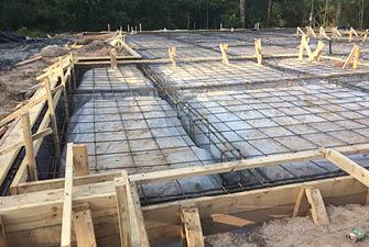 new slab foundation