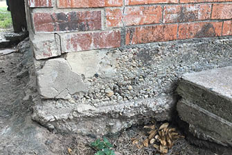Corner pop and other workmanship issues in a home foundation